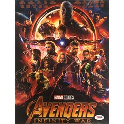 "Sebastian Stan Signed ""Avengers: Infinity War"" 11x14 Photo (PSA COA)"