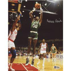 Robert Parish Signed Celtics 8x10 Photo (Beckett COA)