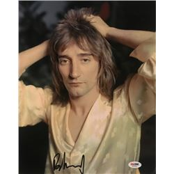 Rod Stewart Signed 11x14 Photo (PSA COA)