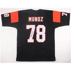 Anthony Munoz Signed Bengals Jersey (JSA COA)