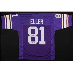 "Carl Eller Signed Vikings Jersey Inscribed ""HOF 04"" (JSA COA)"