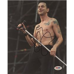 Dave Gahan Signed 8x10 Photo (PSA COA)