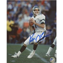 Ken O'Brien Signed Jets 8x10 Photo (Pro Player Hologram)