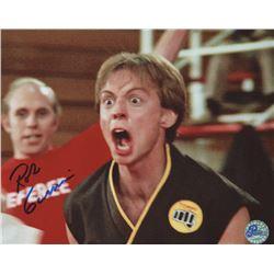 "Rob Garrison Signed ""The Karate Kid"" 8x10 Photo (Pro Player Hologram)"