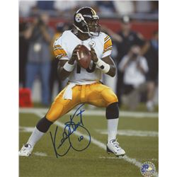 Kordell Stewart Signed Steelers 8x10 Photo (Pro Player Hologram)