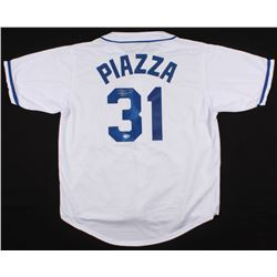 Mike Piazza Signed Mets Jersey (Beckett COA)