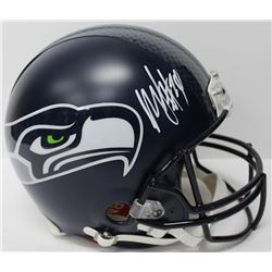 Marshawn Lynch Signed Seahawks Full-Size Authentic On-Field Helmet (Beckett COA)