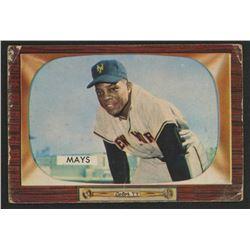 1955 Bowman #184 Willie Mays