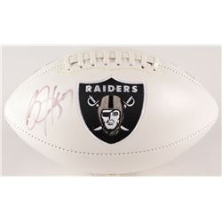 Bo Jackson Signed Raiders Logo Football (Radtke Hologram  Jackson Hologram)