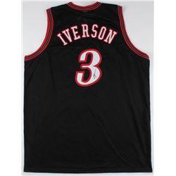 Allen Iverson Signed 76ers Jersey (JSA COA)