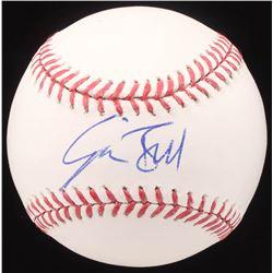 Josh Bell Signed OML Baseball (JSA COA)