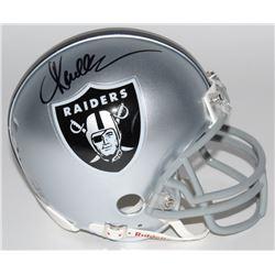 Marcus Allen Signed Raiders Mini Helmet (Radtke COA)