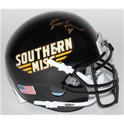 Brett Favre Signed Southern Miss Golden Eagles Mini-Helmet (Radtke COA)