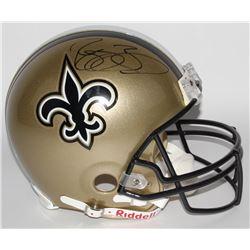 Reggie Bush Signed Saints Full-Size Authentic On-Field Helmet (GTSM COA)