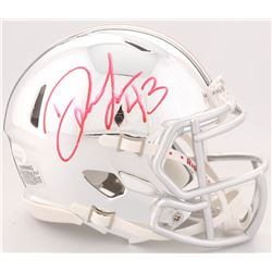 Darron Lee Signed Ohio State Buckeyes Chrome Speed Mini Helmet (JSA COA)