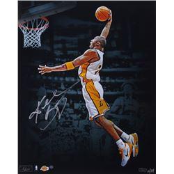 Kobe Bryant Signed LE Lakers 16x20 Photo (Panini COA  Steiner COA)