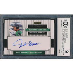 2008 Razor Signature Series #197 Michael Stanton AU/1199 (BCCG 9)