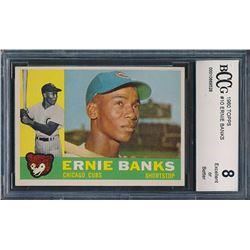 1960 Topps #10 Ernie Banks (BCCG 8)