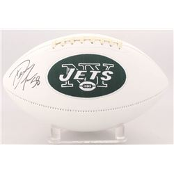 Darron Lee Signed Jets Logo Football (JSA COA)
