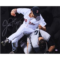 "Joe Kelly Signed ""Fight Club"" Red Sox 16x20 Photo (Sure Shot Promotions)"