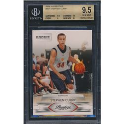 2009-10 Prestige #207 Stephen Curry RC (BGS 9.5)