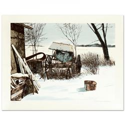 "William Nelson Signed ""Stored for the Winter"" Limited Edition 22x28 Lithograph"