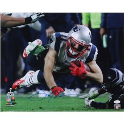 Julian Edelman Signed Patriots 16x20 Photo (JSA COA)