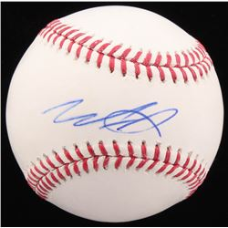 Wade Davis Signed OML Baseball (Beckett COA)