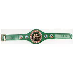 George Foreman Signed Full-Size WBC Heavyweight Championship Belt (JSA COA  Foreman Hologram)