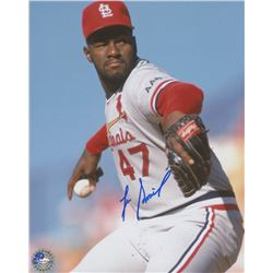 Lee Smith Signed Cardinals 8x10 Photo (Pro Player Hologram)