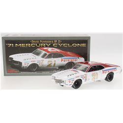 David Pearson Signed NASCAR #21 1971 Mercury Cyclone 1:24 Premium Diecast Car (PA COA)