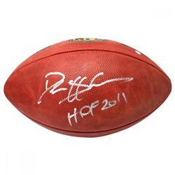 """Deion Sanders Signed NFL """"The Duke"""" Football Inscribed """"HOF 2011"""" (Steiner COA)"""
