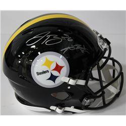 Le'Veon Bell  Antonio Brown Signed Steelers Full-Size Authentic On-Field Speed Helmet (JSA COA)