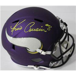 Kirk Cousins Signed Vikings Full-Size Speed Helmet (Cousins Hologram)