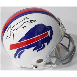 Tremaine Edmunds Signed Bills Authentic On-Field Full-Size Helmet (JSA COA)