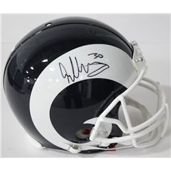 Todd Gurley Signed Rams Authentic On-Field Full-Size Helmet (Beckett COA)