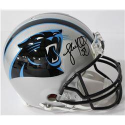 Luke Kuechly Signed Panthers Authentic On-Field Full-Size Helmet (JSA COA)