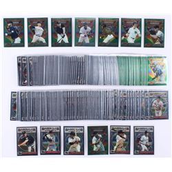 1993 Finest Complete Set of (199) Baseball Cards with #103 Barry Bonds AS, #107 Nolan Ryan AS, #96 C