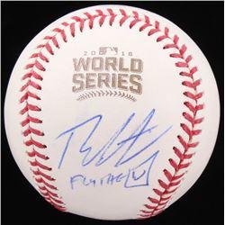 "Theo Epstein Signed 2016 World Series Baseball Baseball Inscribed ""Fly the W"" (Beckett COA)"