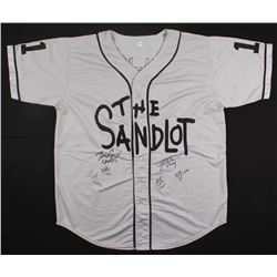 """""""The Sandlot"""" Yeah-Yeah Jersey signed by (6) with Tom Guiry, Chauncey Leopardi, Marty York, Shane Ob"""