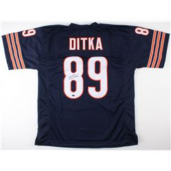 Mike Ditka Signed Bears Jersey (Schwartz COA)
