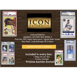 ICON AUTHENTIC BASEBALL MYSTERY BOX SERIES 2