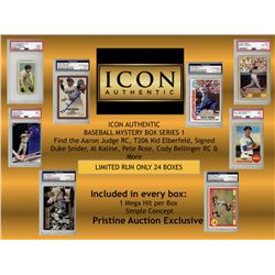 ICON AUTHENTIC BASEBALL MYSTERY BOX SERIES 1