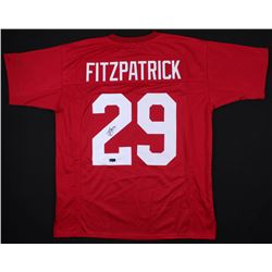 Minkah Fitzpatrick Signed Alabama Crimson Tide Jersey (Radtke COA)
