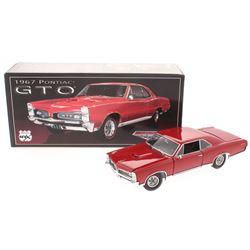 1967 Pontiac GTO 1:24 Premium Diecast Car