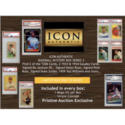 ICON AUTHENTIC BASEBALL MYSTERY BOX SERIES 3