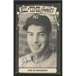 Joe DiMaggio Signed 1973-79 TCMA All-Time Greats #6 (JSA LOA)