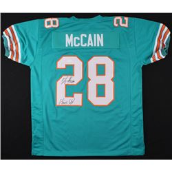 "Bobby McCain Signed Dolphins Jersey Inscribed ""Phins Up!"" (JSA COA)"