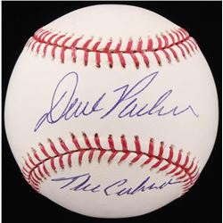 "Dave Parker Signed OML Baseball Inscribed ""The Cobra"" (Beckett COA)"