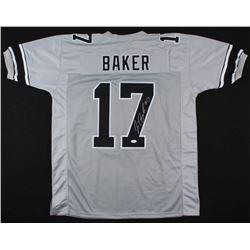 Jerome Baker Signed Ohio State Buckeyes Jersey (JSA COA)
